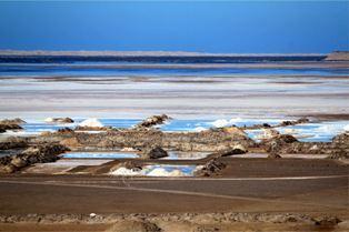 Marées salants alimentées par la lagune de Naïla